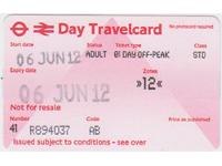 londyn travelcard