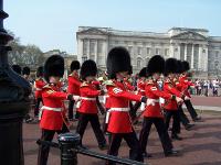 Zmiana warty, Buckingham Palace, Londyn