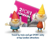Londyn za pół ceny z brytyjskimi kolejami