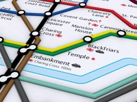 Kilka słów o metrze w Londynie - część 2: strefy, mapy, narzędzia on-line