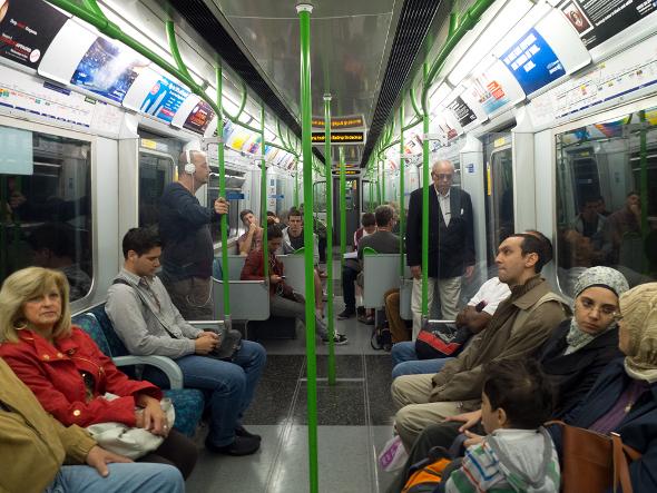 metro przedział