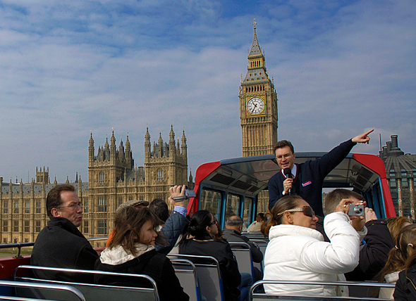 london open bus tour