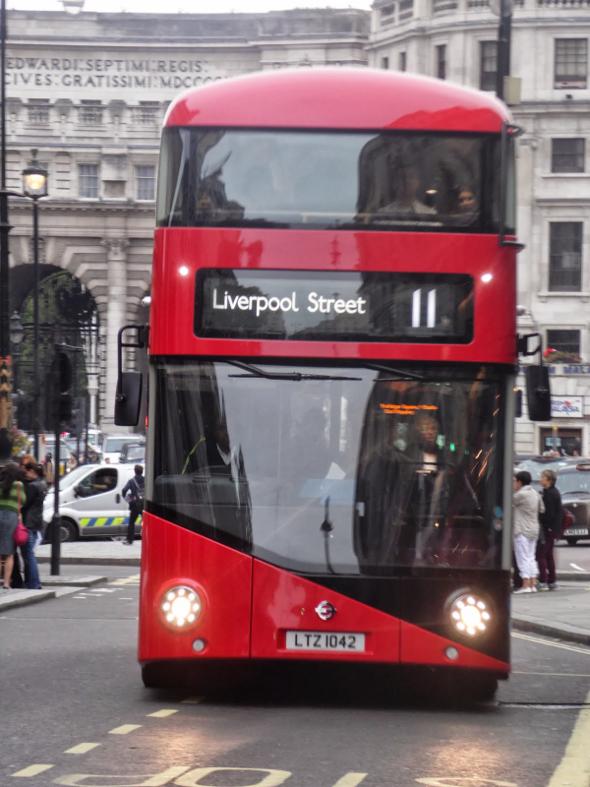 londyn autobus nr 11