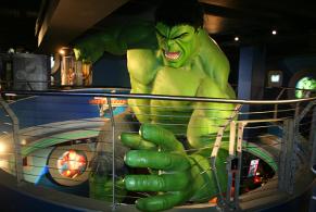 figura Hulka w muzeum figur woskowych w Londynie